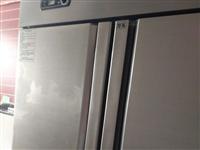 商用四開門冰箱一臺,九成新,全銅管,雙壓縮機,價格面議