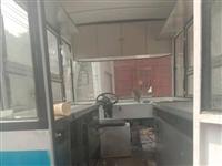 餐车,有冰柜,炸锅,铁板烧,
