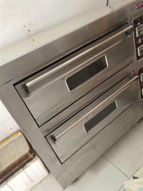 低價出售烤箱+和面機