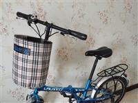 可折叠自行车原价750,现低价330出售,车况良好,9成新