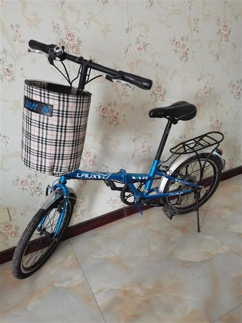 可折疊自行車原價750,現低價330出售,車況良好,9成新