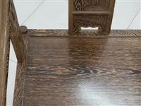 几乎**1.88m的鸡翅木大茶桌,既可招财聚客,也可作为老板桌运帷筹谋,或可收藏。因个人原因出手,遇...