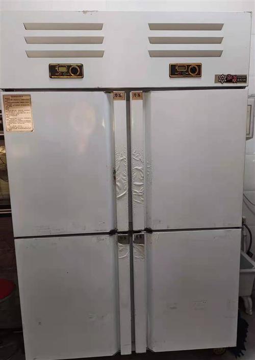处理四开门大冷柜一台,外皮包装还没拆,因用不着搁置,超低价处理,有需求的朋友来看看。欢迎询价