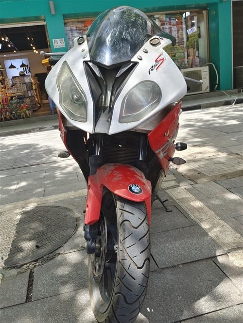 便宜处理一手闲置摩托车,买到就是赚到,行驶里程少,七八成新,350CC双缸机器,证件齐全,价格优惠必...