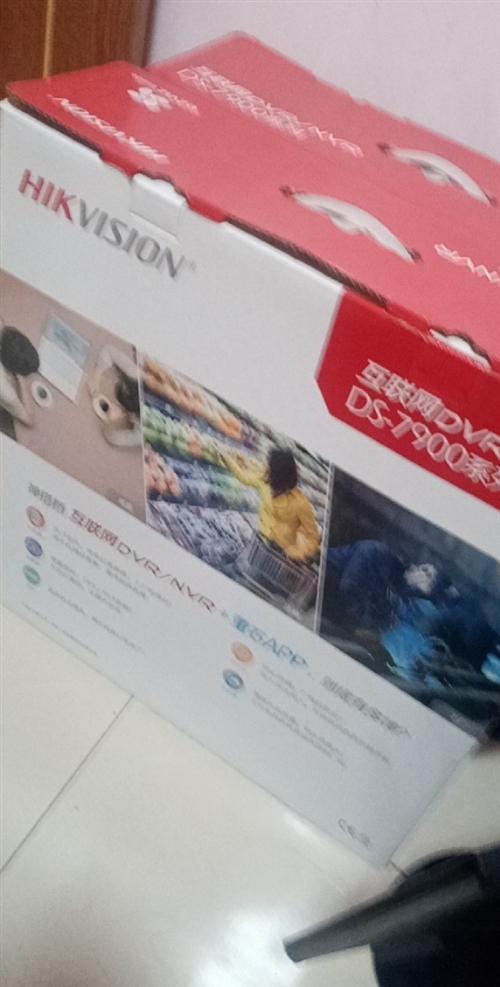 海康监控录像机2台、显示屏2台。