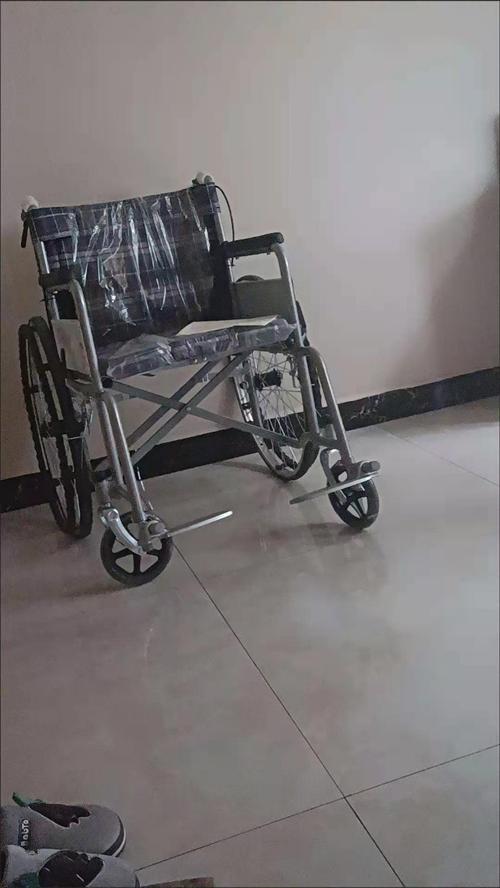 **轮椅可折叠,轻便实心胎,老人代步车,老年人、残疾人、瘫痪老人、便携加固轮椅手推车。轮椅靠背手推刹...
