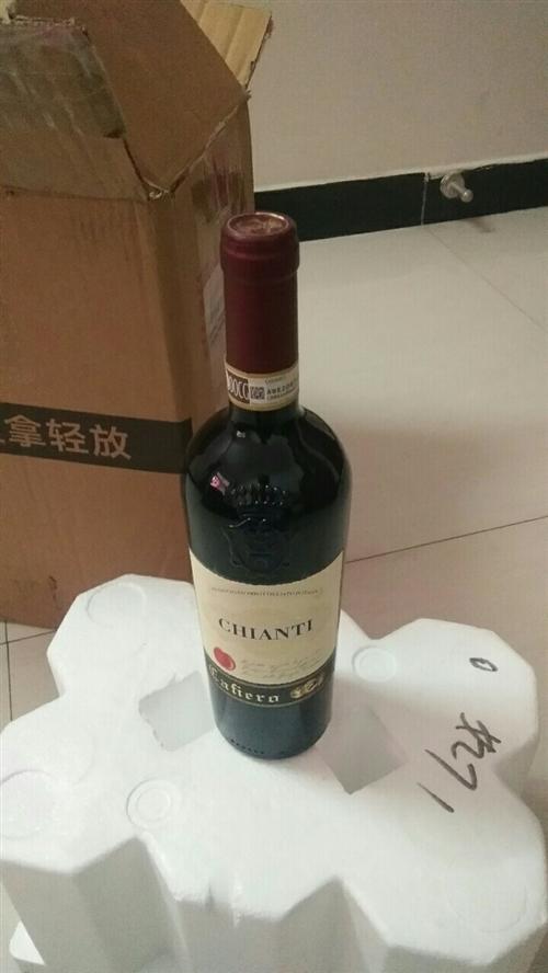 有一箱卡妃洛基安蒂干红葡萄酒要出售