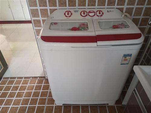 雙杠洗衣機大容量,九成新