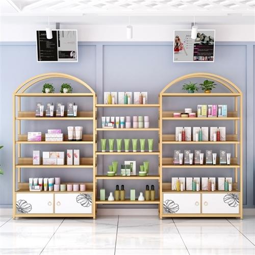 化妝品背柜11組11米,用了半年,現低價出售