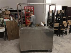 灶台,3米操作台,推车,冰箱,桌椅,厨房一套等等,九成新低价出售
