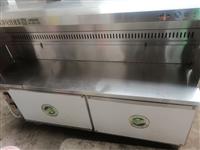 两米长烧烤净化器碳炉转让