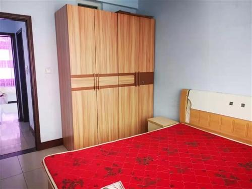 出租广播局宿舍楼两室,家具家电齐全,带储藏间,年租8000元