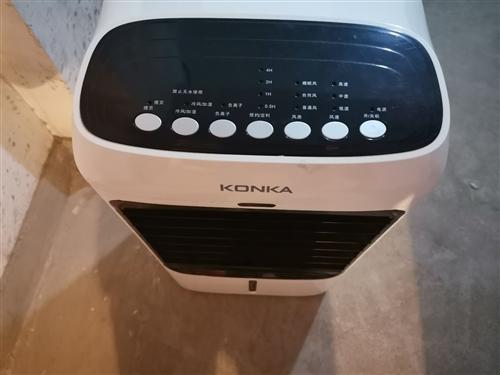 孩子前年夏天在國美電器買的空調扇,買了用最多不超過5次就裝空調了,一直在地下室,最近翻地下室看到的,...