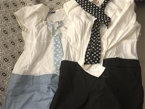 出售鸿星尔克的polo衫、短袖、外套 图是九九成新的裙子只试了一次 需要了解的请联系