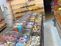 超市中岛货柜带(3.6米长1.3米宽)带60个亚克力透明盒子,便宜出了!3400买的便宜出了,9.5...