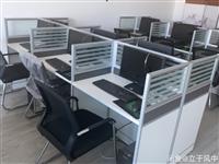 急售!办公桌、电脑 办公卡位办公桌,工位,隔断,会议桌,打印机,投影仪,笔记本电脑,台式电脑,一体...