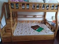 因搬家有张上下两层的床要转让