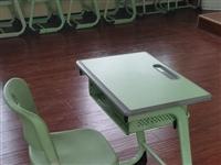 处理学习桌套装,小学以上试用。桌面40长×60宽×75高,带椅子带椅子!!!