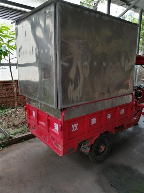 电动三轮车加货架出售