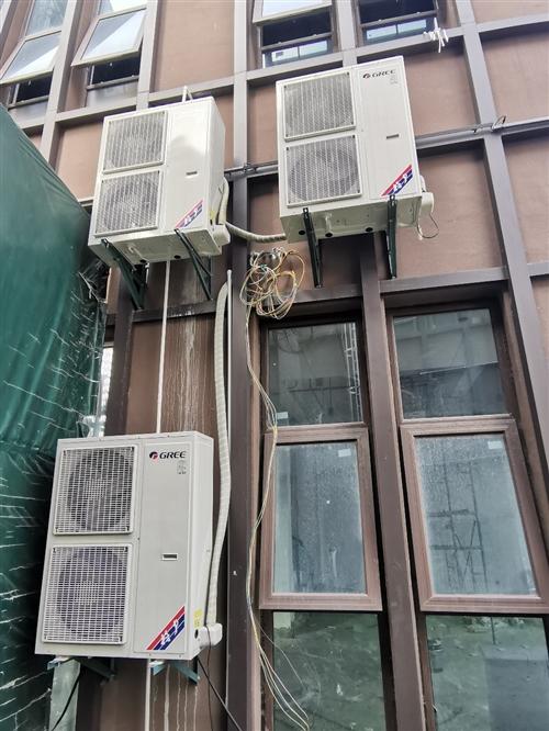**格力空调,商铺办公楼使用,380伏,详情看铭牌。7000一台,原价15000,一次没用过,门店不...