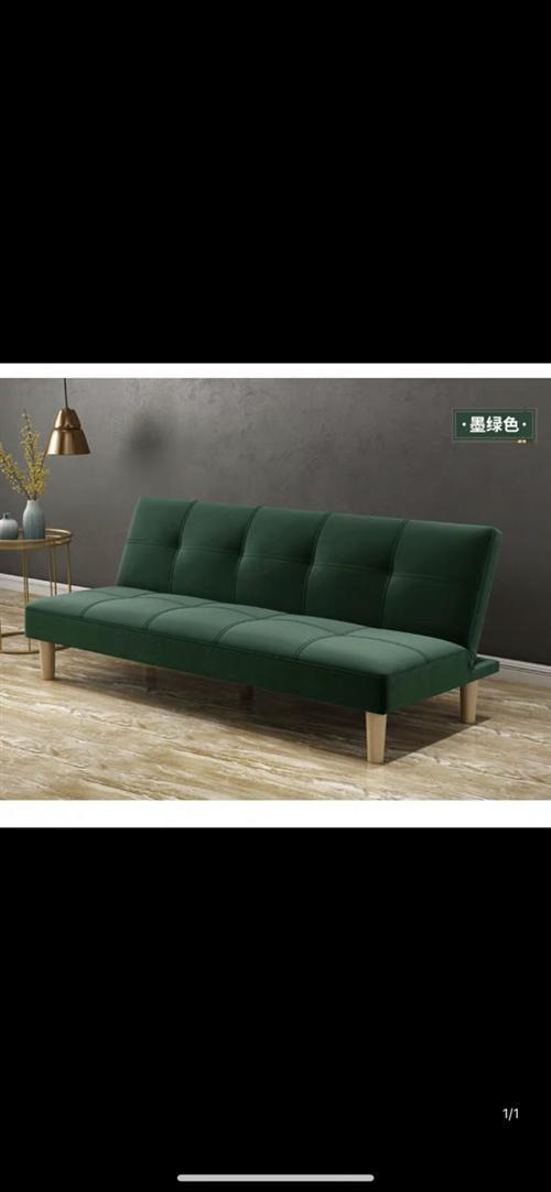 小户型两用可可折叠沙发