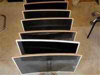 低价出32寸曲面显示器一批,显示效果非常好,9成色新,全部带钢化玻璃,全部清一色!有需要的老板请电话...
