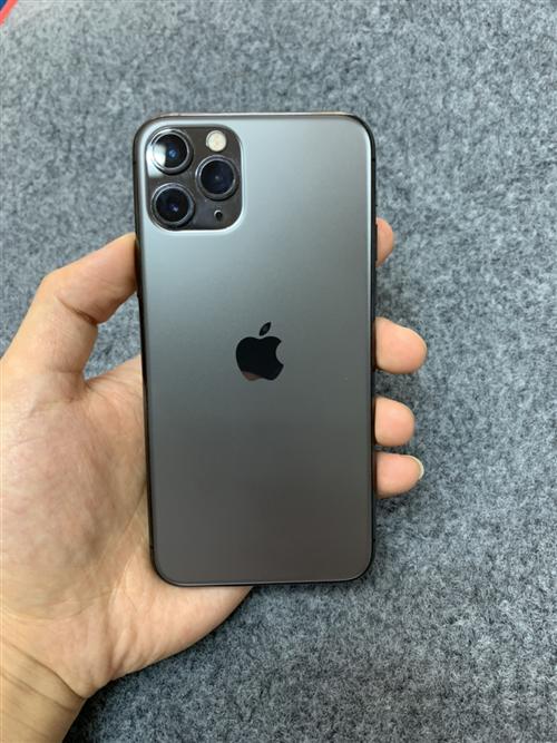 苹果11Pro  64g   成色很新,没有摔过,保护的很好。有原装充电器