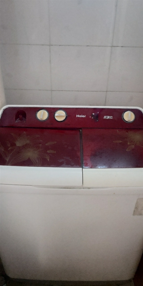 一个海尔洗衣机,完好无损,现在用不到了,有需要的来拉走