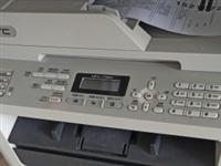 兄弟7360黑白激光一体机,打印复印扫描功能,加粉简单,不用拆卸。打印复印清晰,八成新。实体店,自提...