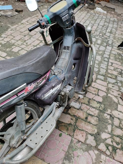 大阳摩托车车况好用不着,准备卖掉。