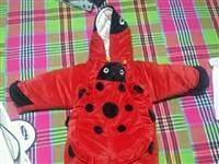 婴儿外出服,婴儿衣服,冬季衣服 超级厚,很适合天冷的时候出去穿,挡风,号码是90的,肩宽30,袖长2...