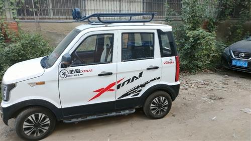 四轮电轿,60    100安的大电池,现在充满可以跑100多里,潢川可以看车