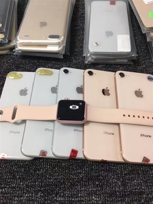 蘋果小8三網通64g全部未激活,黑色金色,電話微信:13139371539