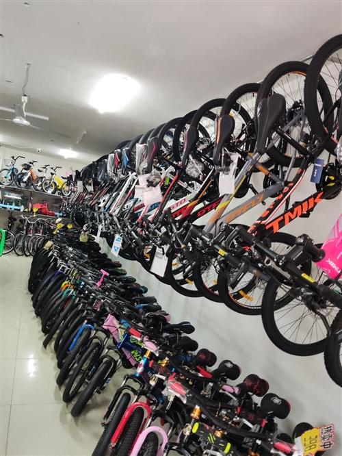 各种自行车随便挑,随便选,二手的也有,加微信