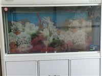 青州八喜温馨苑,现处理家中一直用着的发财鱼缸一台,1.47×1.25米,一直用的挺好,现在搬家需要,...