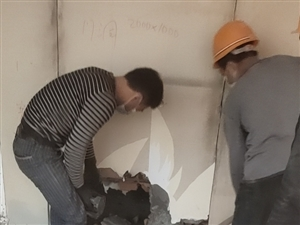专业拆除   打线槽   除渣