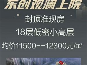 东创观澜上院售楼部13933881624