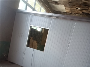 电焊围挡,棚顶子彩钢瓦