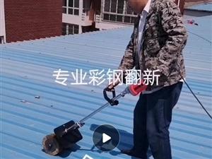 专业彩钢瓦翻新施工队