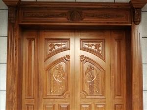 浦城实木楼梯扶手原木门复合门衣柜护墙板护墙板