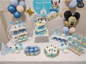 蛋糕 甜品台