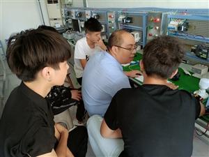 短期培训电工编程PLC,高薪就业