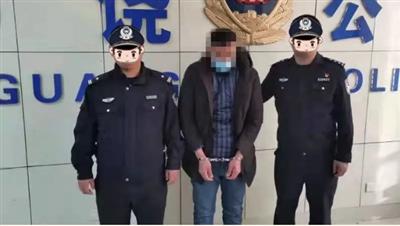丢人!广饶38岁男子入室盗窃!