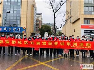 【明珠桥社区】党建引领筑铁军,防疫冬训两相宜