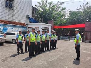 儋州多警联合,开展中小学校园周边交通违法行为整治行动!