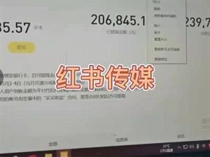 红书传媒提供工位电脑手把手教学+运营规划+一对一讲师指导项目