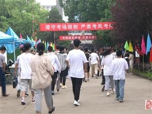 中考�_考;桐城5270名考生奔赴考��