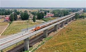 滑县高铁最新动态:开始铺轨、装修瓷砖进场!