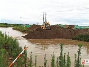 孔城镇:多措并举高效应对强降雨天气