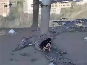 110指挥中心:陇南东江湿地公园有一女子欲跳江......